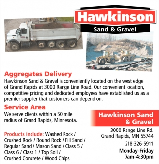 Aggregates Delivery