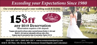 Tent & Party Rental, Lefty's Tent & Party Rental, Bovey, MN