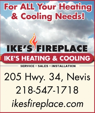 For All Your Heating & Cooling Needs!