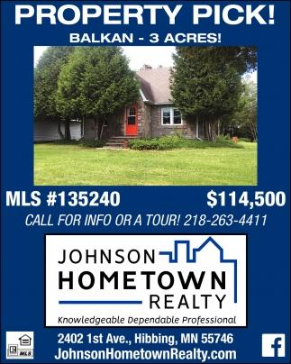 Property Pick!