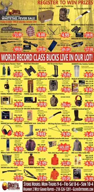 World Record Class Bucks Live In Our Lot!