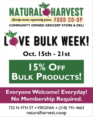 Love Bulk Week!