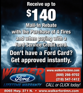Receive Up To $140 Mail-In Rebate