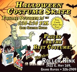 Halloween Custom Skate