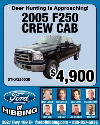 2005 F250 Crew Cab