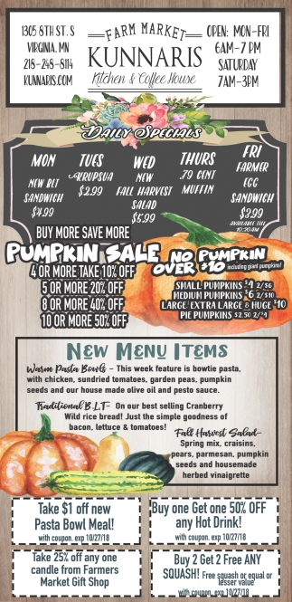 No Pumpkin Over $10
