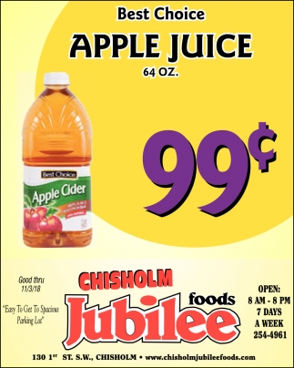 Best Choice Apple Juice