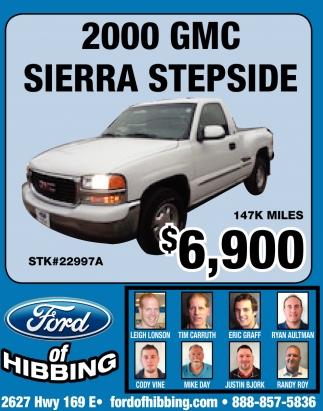 2000 GMC Sierra Stepside