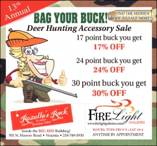 13th Annual Bag Your Buck!