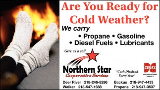 Are Your Ready For The Cold Weather?