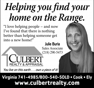 Helping You Find Your Home On The Range