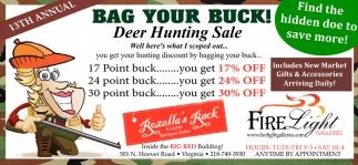 Bag Your Buck!