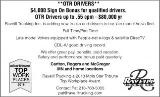 OTR Drivers