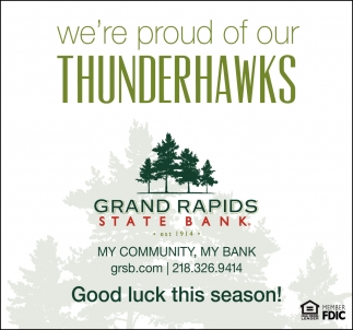 We're Proud Of Our Thunderhawks