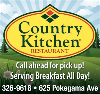 Serving Breakfast All Day Country Kitchen Restaurant