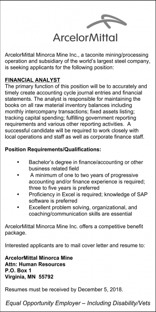 sle resume of a financial analyst.html