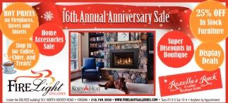 16th Annual Anniversary Sale