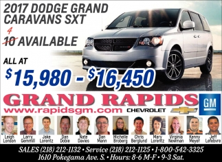 2017 Dodge Grand Caravans