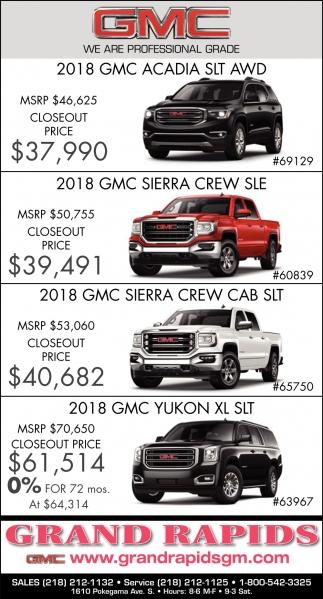 2018 GMC Acadia SLT