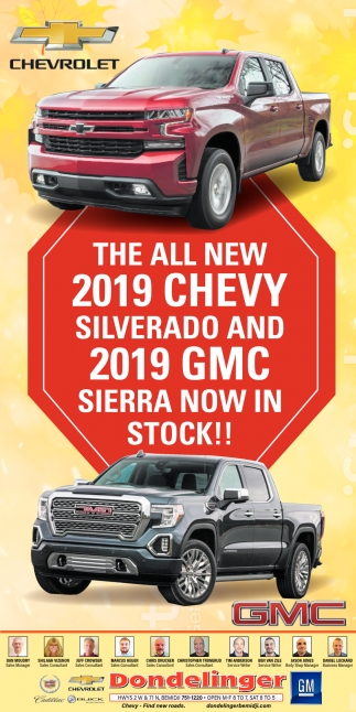 The All New 2019 Chevy