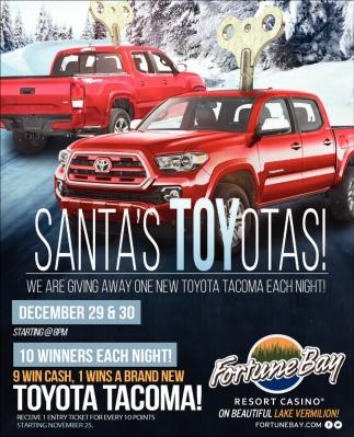 Santa's Toyotas!