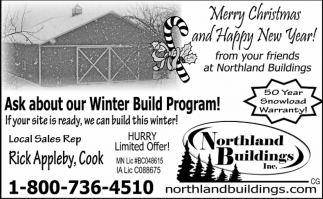 Ask About Our Winter Program