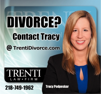 Divorce? Contact Tracy