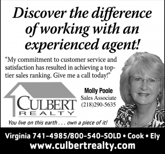 Discover The Difference Of Working With An Experienced Agent!