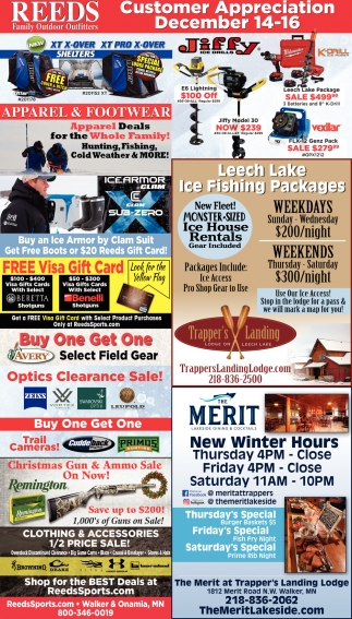 Customer Appreciation December 14-16