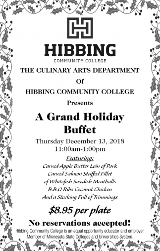 A Grand Holiday Buffet