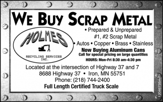 We Buy Scrap Metal