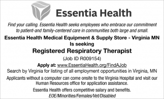Registered Respiratory Therapist