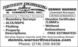 Dennis Warner Licensed Surveyor