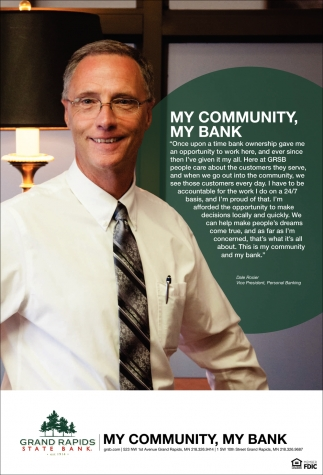My Community, My Bank