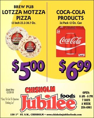 Lotzza Motzza Pizza