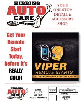 Viper Remote Starts