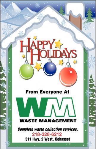 Happy Holidays From Everyone At