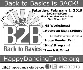 Back To Basics Is Back!