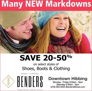 Many New Markdowns