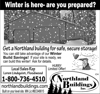 Winter Is Here - Are You Prepared?