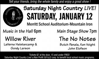 Saturday Night County