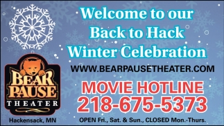 Welcome To Our Back To Hack Winter Celebration