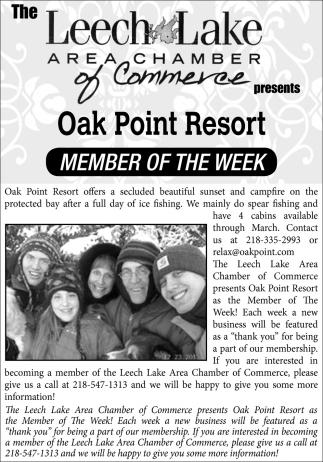 Oak Point Resort