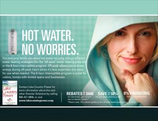 Hot Water. No Worries.