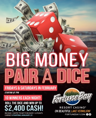 Big Money Pair A Dice