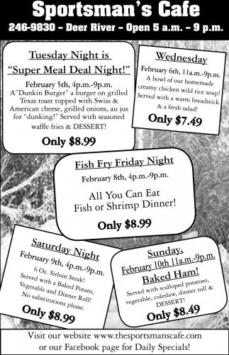 Fish Fry Friday Night