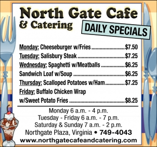 Daily Specials