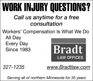 Work Injury Questions?