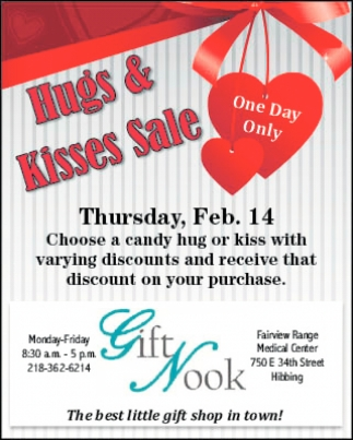 Hugs & Kisses Sale
