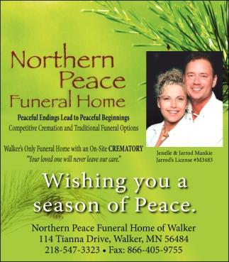Wishing You A Season Of Peace